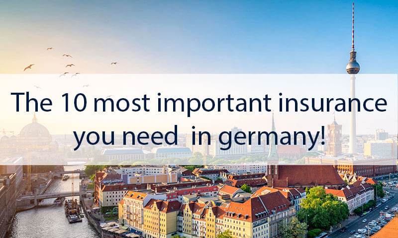 Important Insurance in Germany